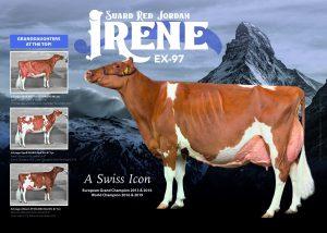FEMbryos uit Suard Jordan Irene Red EX-97!